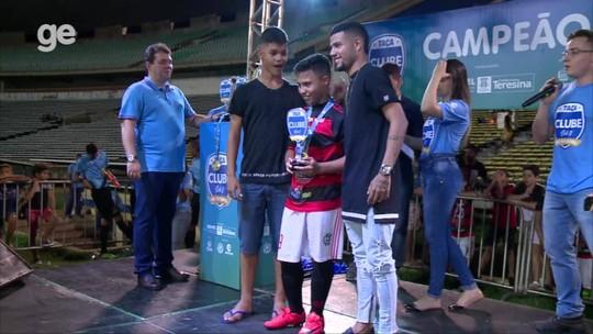 Escolinha Fla, Boca e Promorar dominam a seleção da Taça Clube sub-11; confira os melhores