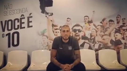 Figueira divulga vídeo de apresentação de Rafael Marques, o novo reforço