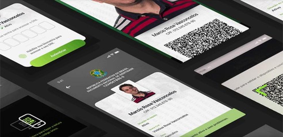 Documento Nacional de Identificação (DNI) deve ser lançado em 2020 — Foto: Divulgação/TSE