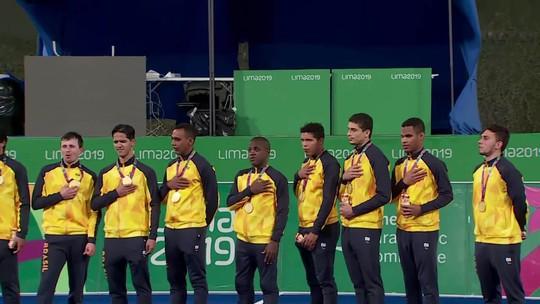 #Dia 9: Futebol de 5 bate Argentina e conquista 100ª medalha de ouro do Brasil no Parapan