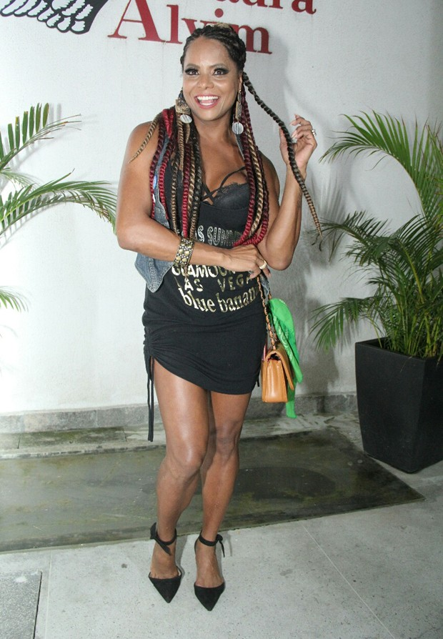 Adriana Bombom (Foto: Wallace Barbosa/AgNews)