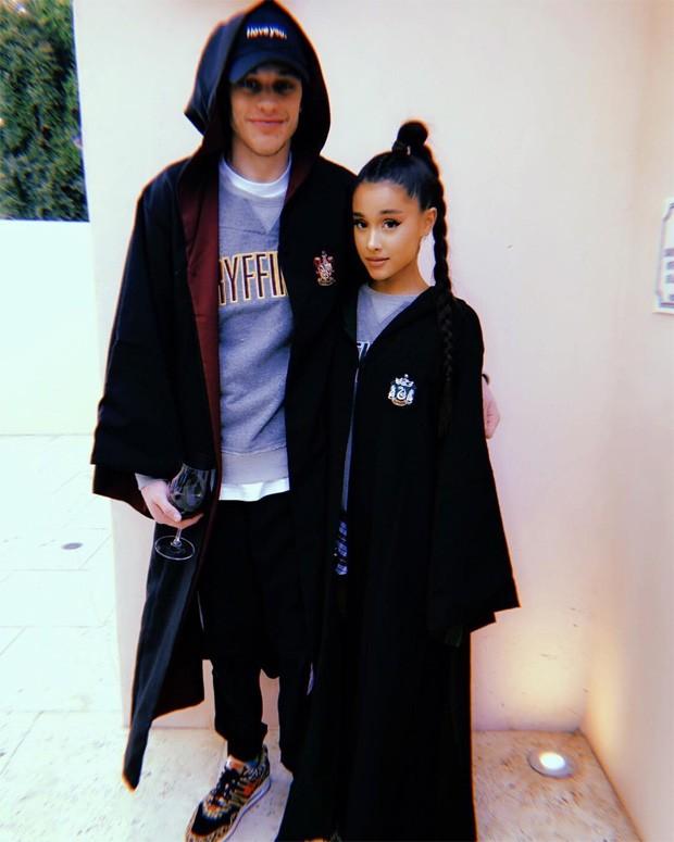 Ariana Grande e Pete Davidson (Foto: Reprodução/Instagram)