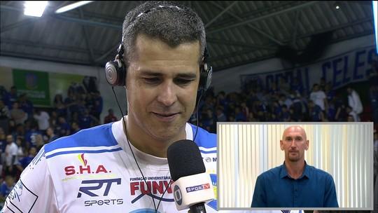 Dante se emociona com a despedida das quadras após derrota para o Cruzeiro