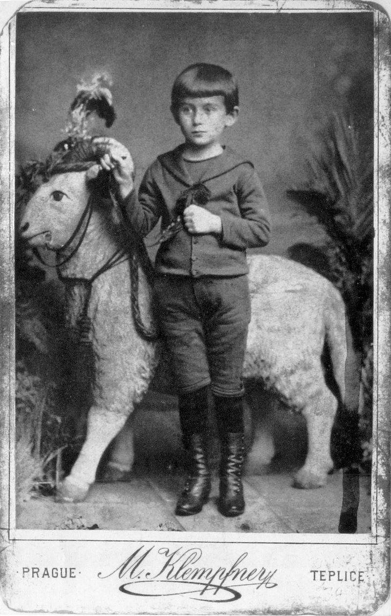 Franz Kafka (Foto: Domínio Público/WikimediaCommons)