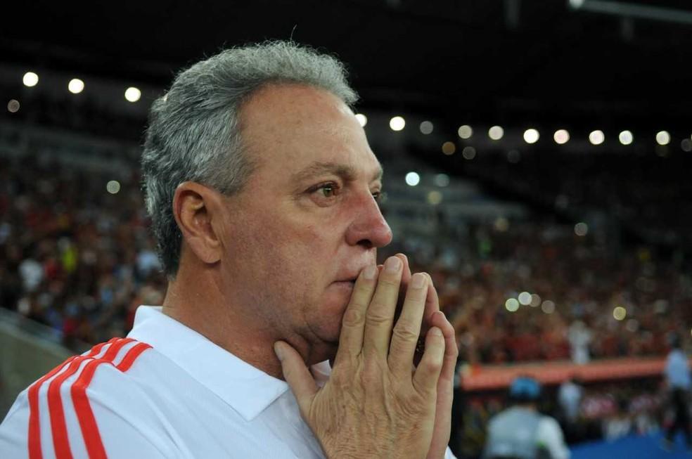 Abel Braga chegou ao Flamengo em janeiro  — Foto: Alexandre Durão/ GloboEsporte.com