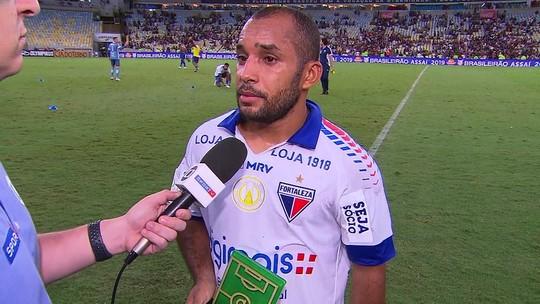 """Craque do Jogo, Edinho celebra temporada no Fortaleza: """"Momento de um ano incrível"""""""