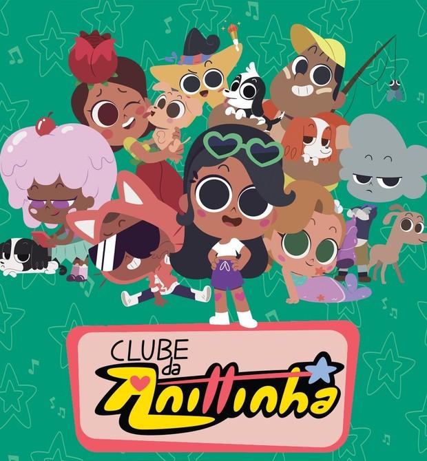 """Personagens da animação """"Clube da Anittinha"""" (Foto: Divulgação)"""
