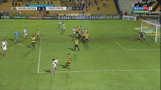 """Novo gol anulado revolta Ponte, e Jorginho lembra polêmica na Copa do Brasil: """"Hoje não voltou atrás"""""""