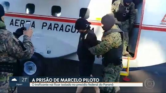 Traficante Marcelo Piloto vai ficar isolado em presídio federal no Paraná