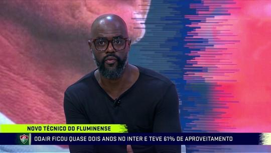 """Grafite diz que Odair tem tudo para dar certo no Fluminense; Rezende destaca: """"Não pensa futebol como o Diniz"""""""