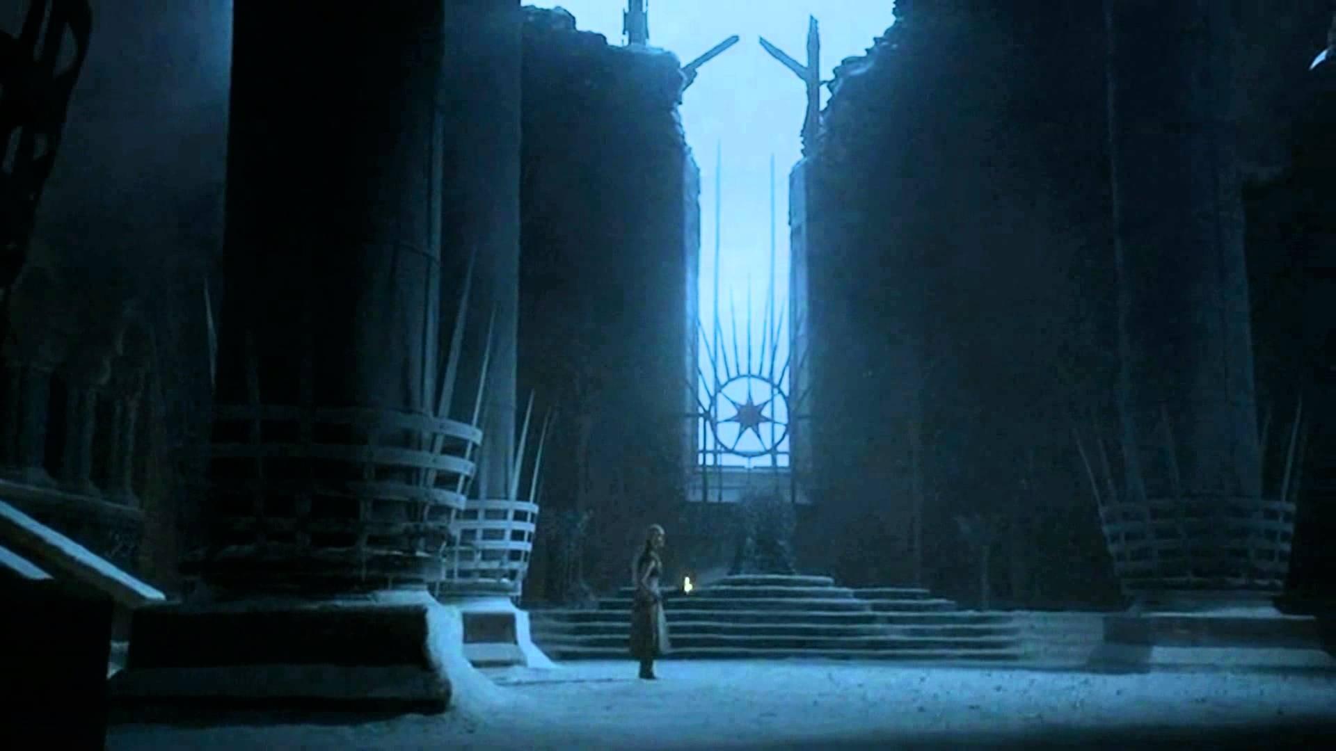 Uma das visões de Daenerys na Casa dos Imortais (Foto: reprodução)