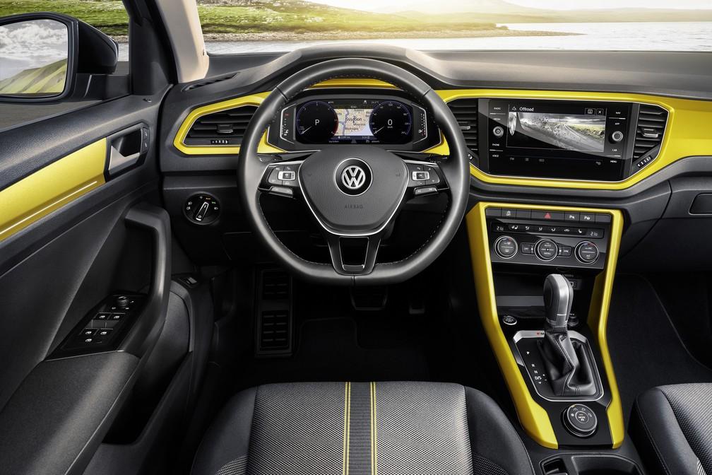 Volkswagen T-Roc (Foto: Divulgação)