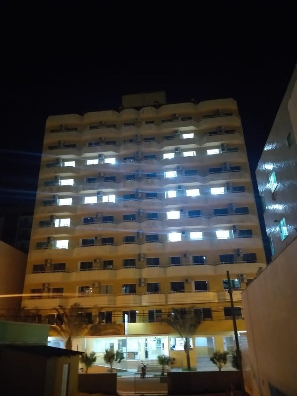 Hotel em Balneário Camboríu — Foto: Rede Candeias/ Divulgação