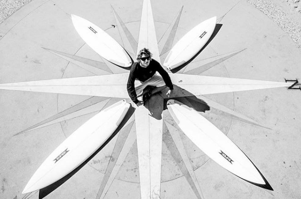Clay Marzo é radical ao estremo (Foto: Arquivo pessoal)