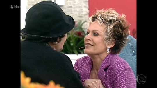 Em homenagem, Ana Maria Braga relembra quando se ajoelhou para Bibi Ferreira