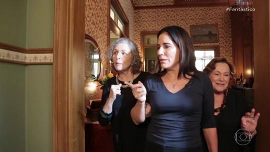 """Ao lado de Glória Pires, Nicette Bruno e Irene Ravache relembram Lola de """"Éramos Seis"""""""