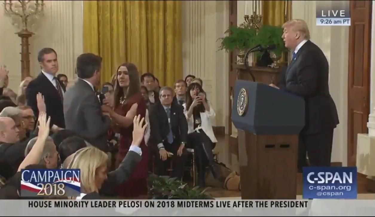 Jim Acosta, jornalista da CNN (Foto: Reprodução)