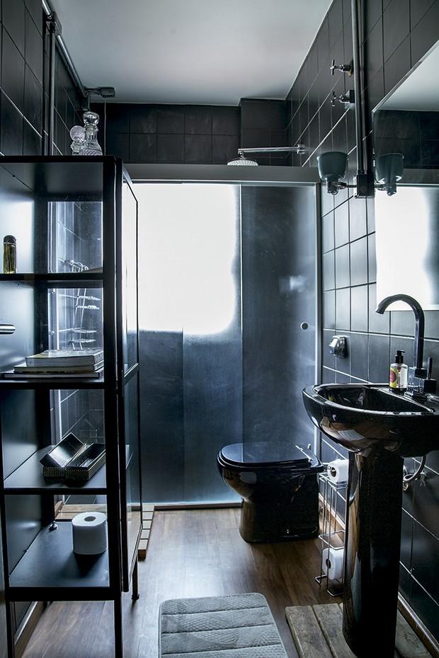 Lifestyle decor - O banheiro que atende aos demais ambientes  (Foto: Rogério Voltan)