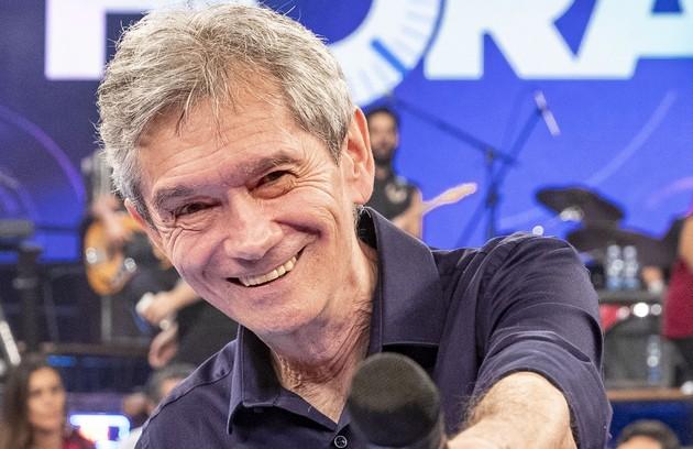 Serginho Groisman fará uma participação remota no dia do show (Foto: Fábio Rocha/TV Globo)