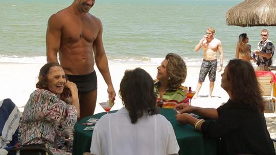Final de 'Sol Nascente': Sinhá e Cristiano terminam ricos e felizes em praia no México