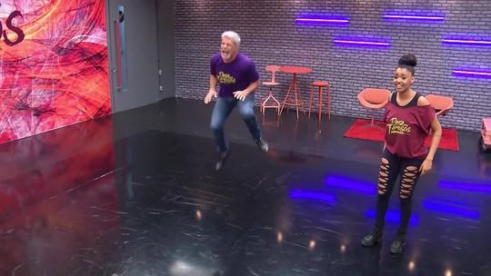 'Dança dos Famosos 2017': veja como foram os ensaios do time masculino