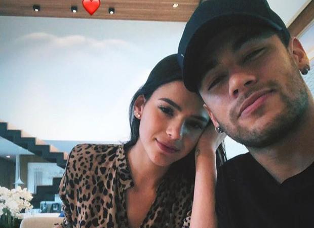 Bruna Mar e Neymar (Foto: Reprodução/Instagram)