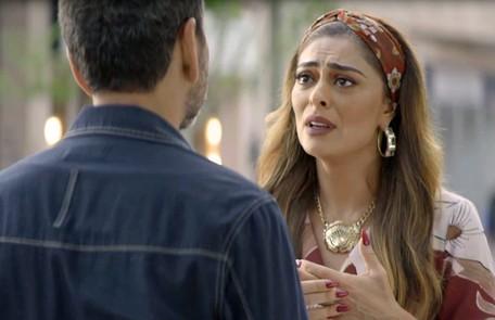 Na sexta (14), Maria da Paz sofrerá um atentado TV Globo