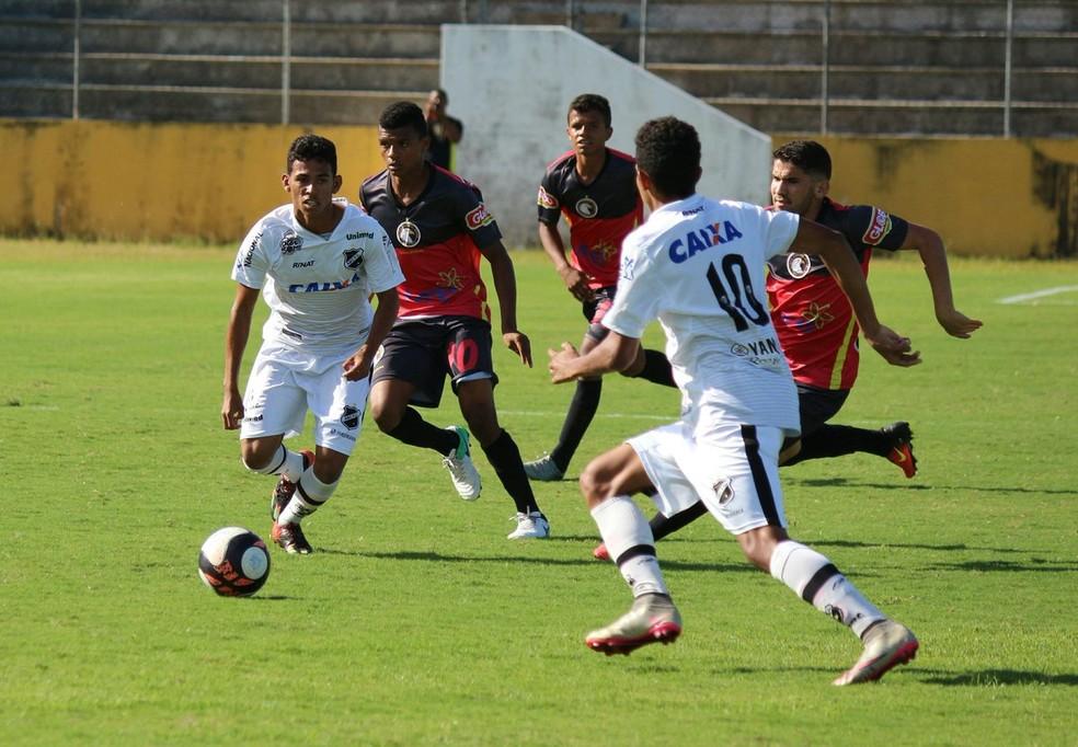 Globo FC vence ABC por 1 a 0 e vai à final do Campeonato Potiguar Sub-19 (Foto: Andrei Torres/ABC)