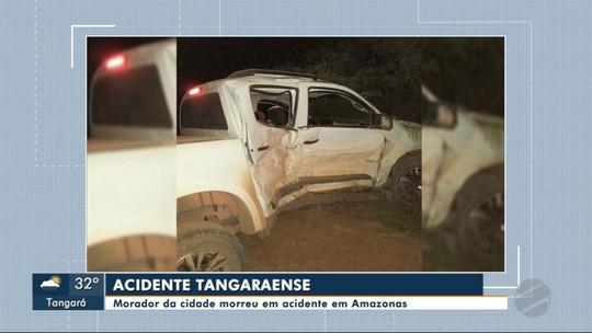 Morador de Tangará morre em acidente no AM