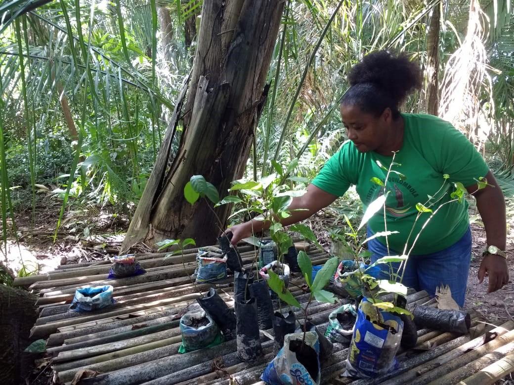 Anacleta Pires da Silva, de 51 anos, é quilombola do Santa Rosa dos Pretos (Foto: Sabrina Duran)