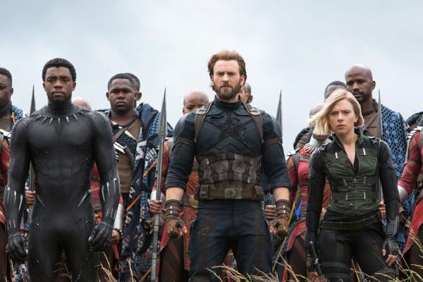 Os heróis da Marvel em Vingadores: Guerra Infinita (Foto: Reprodução)