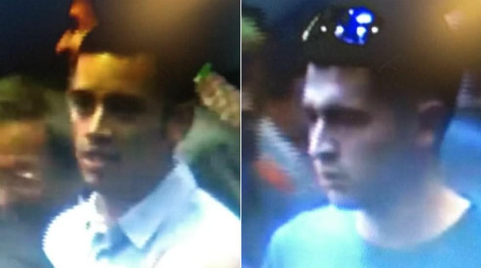 Suspeitos de roubar medalha Fields de iraniano (Foto: Reprodução)