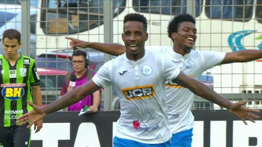 Os gols de América-MG 1x2 São Bento pela 38ª rodada do Campeonato Brasileiro Série-B