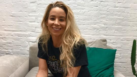 Danielle Winits conta que treina com os filhos para o 'Show dos Famosos': 'Fazemos uma festa em casa'