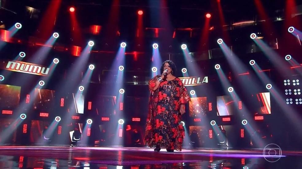 Ex-doméstica, maranhense é classificada na primeira fase do 'The Voice +' — Foto: Reprodução/TV Globo