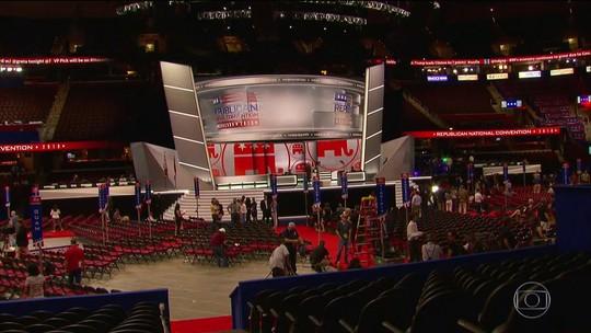 Convenção dos republicanos que deve indicar Trump começa nesta 2ª