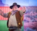Leandro Hassum grava 'Divertics' | TV Globo /Estevam Avellar