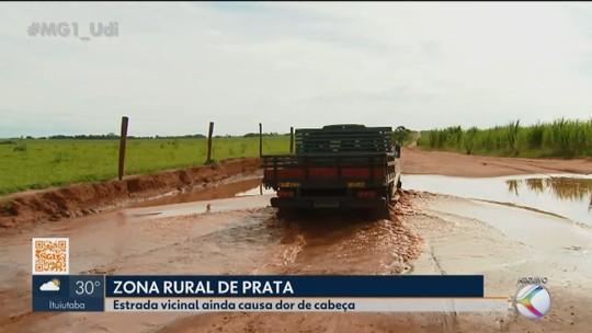MG1 volta a mostrar dificuldades de produtores rurais na região de Prata