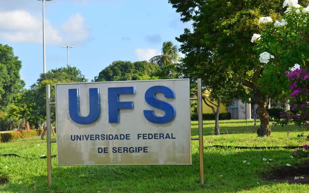 Universidade Federal de Sergipe (UFS) — Foto: Demétrius Oliveira/G1/Arquivo