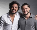 Rodrigo Simas e Bruno Gissoni | Globo