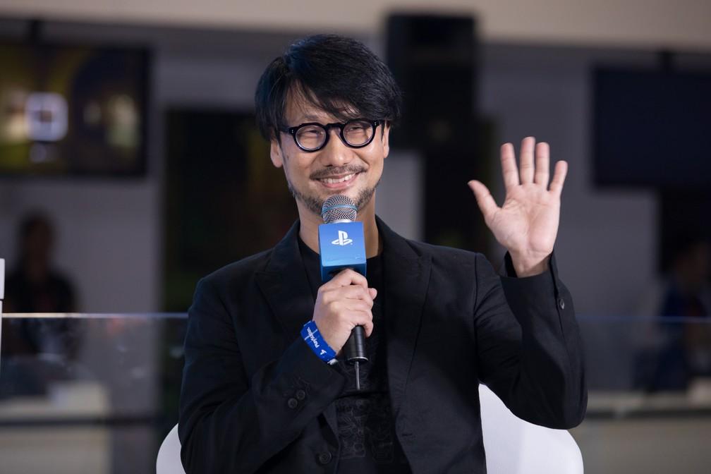 -  Hideo Kojima no 1º dia da Brasil Game Show 2017  Foto: Celso Tavares/G1