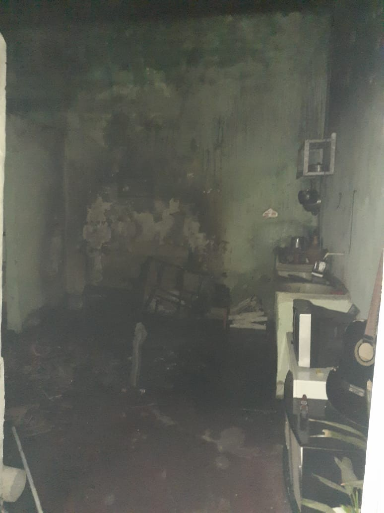 Incêndio atinge casa em São Miguel dos Campos, AL