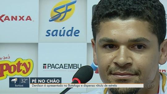 Volante Denílson diz que está 100% recuperado para defender o Botafogo-SP