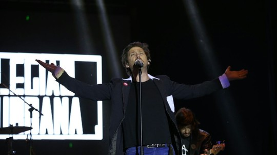 Legião Urbana faz show memorável no Festival de Inverno