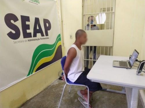 Suspensos desde março, parlatórios presenciais serão retomados em cadeias do AM dia 13 de julho