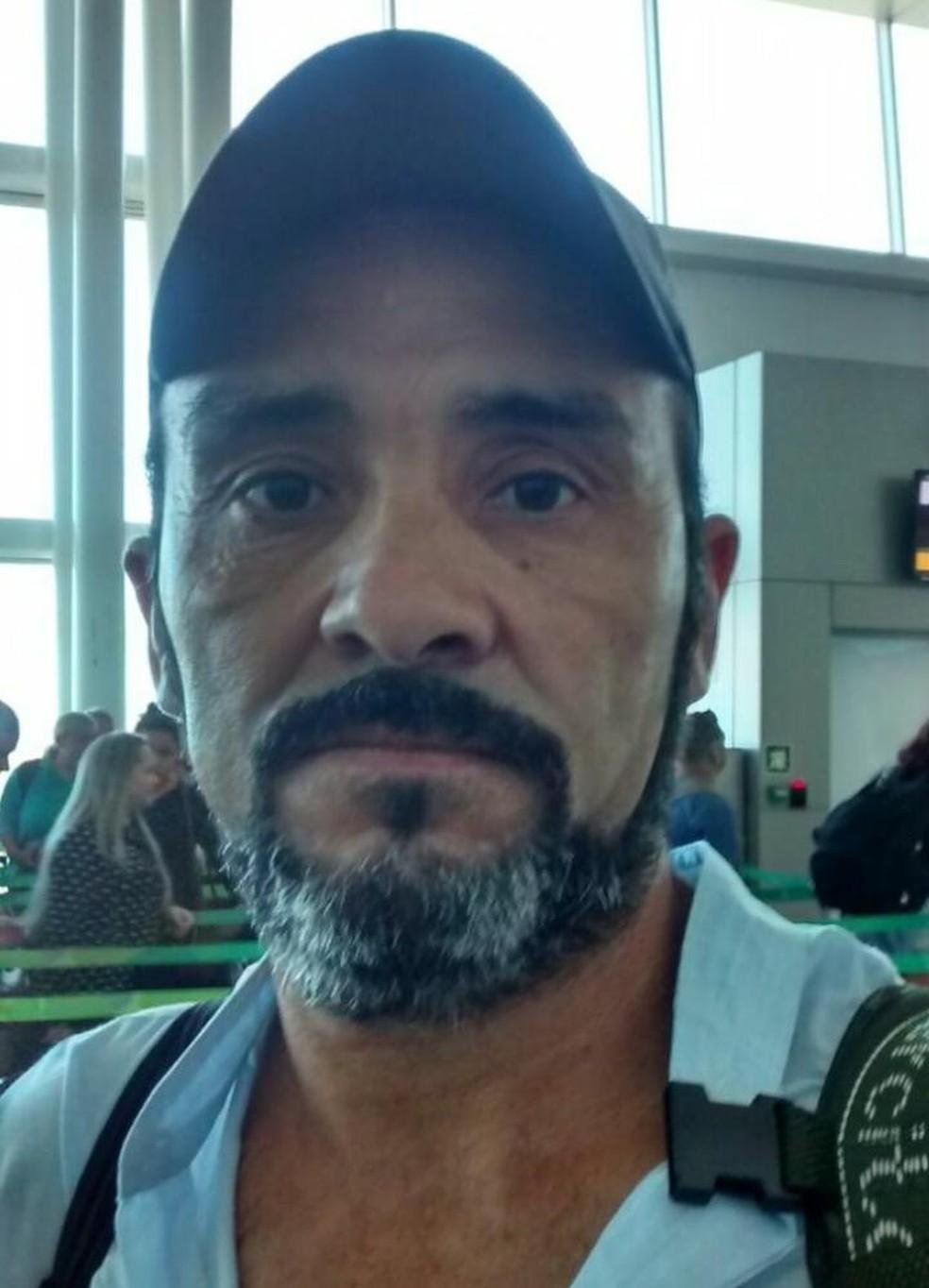 Família procura Carlos Augusto Pereira da Silva, de 50 anos, que desapareceu no último sábado (25) na Grande Natal — Foto: Arquivo Pessoal