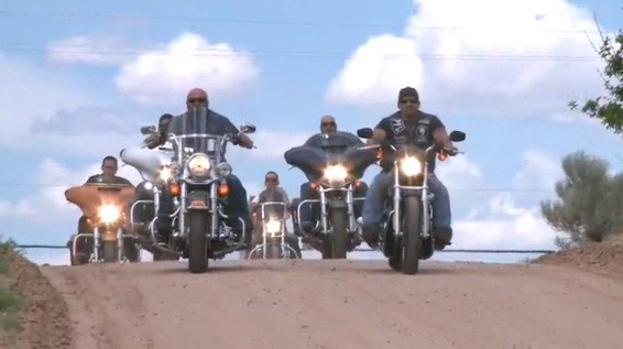 Motoqueiros (Foto: Reprodução)