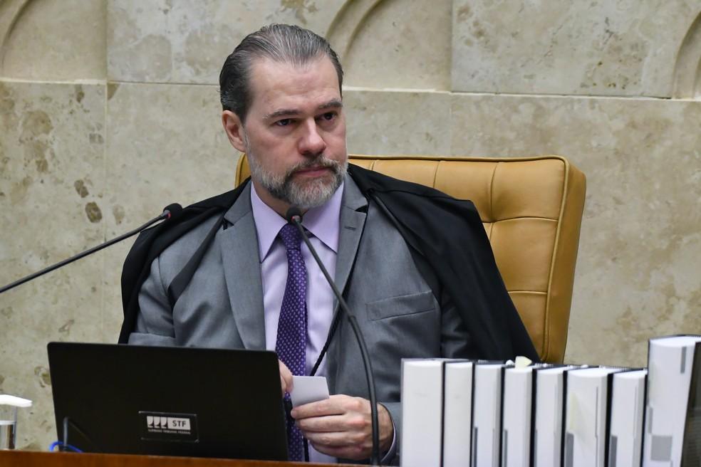Dias Toffoli, presidente do STF — Foto: Carlos Moura/SCO/STF