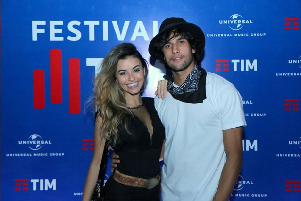 Talita Younan e Fábio Scalon (Foto: Daniel Pinheiro/AgNews)