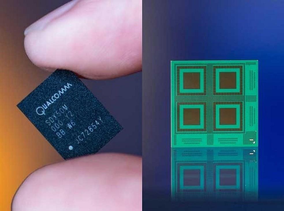Modem X50 pode chegar a velocidade gigabit (Foto: Divulgação/Qualcomm)